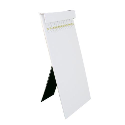 Shop Wholesale White Leatherette Chain Display Pad with Easel at Nile Corp