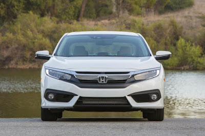 2016 all new Honda Civic More Better front view