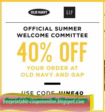 Gap coupons printable in store 2018