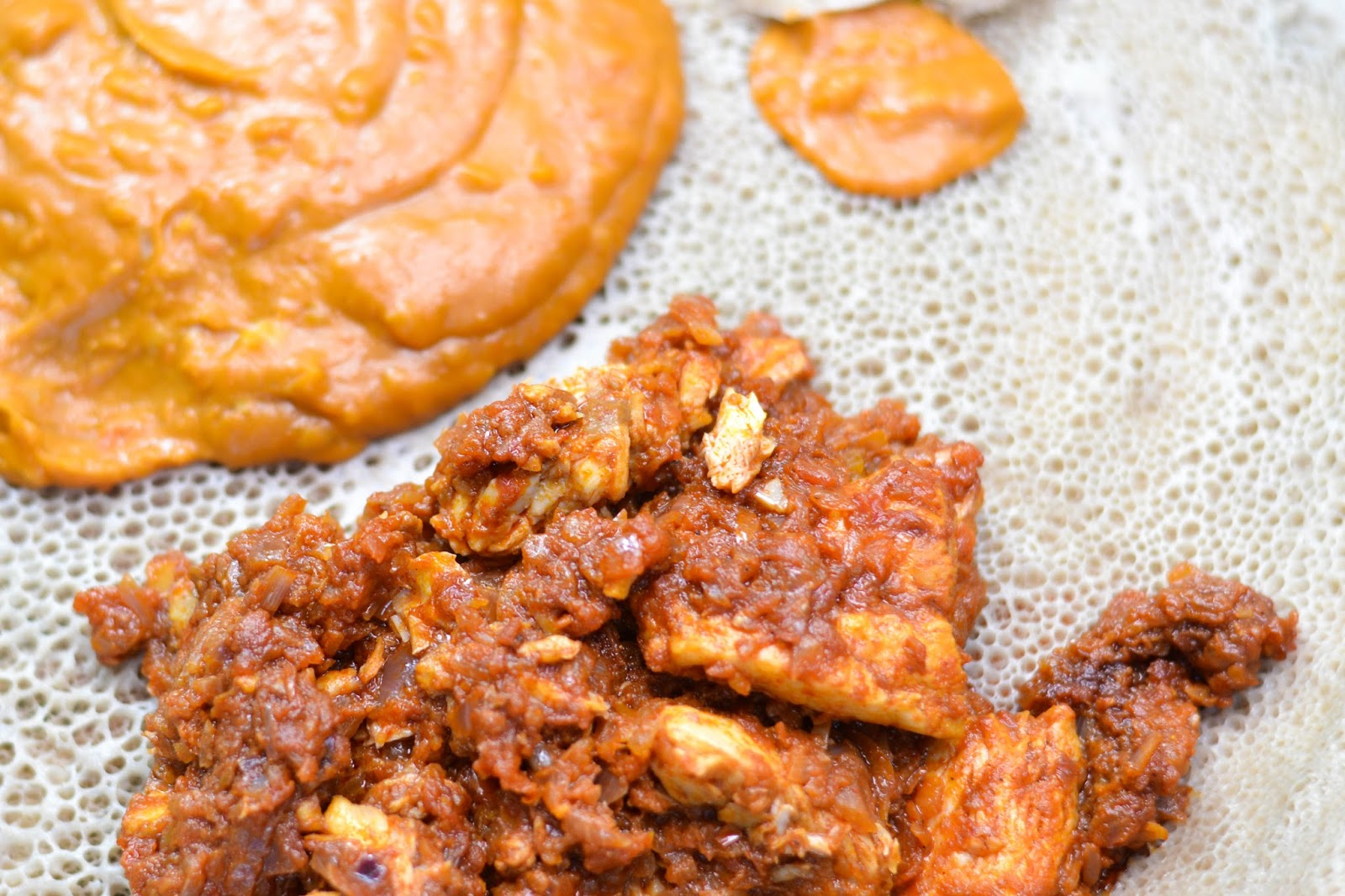 ethiopian food injera