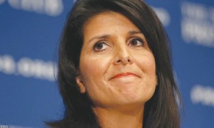 Nikki Haley said: Women accusing Trump of sexual misconduct 'should be heard'