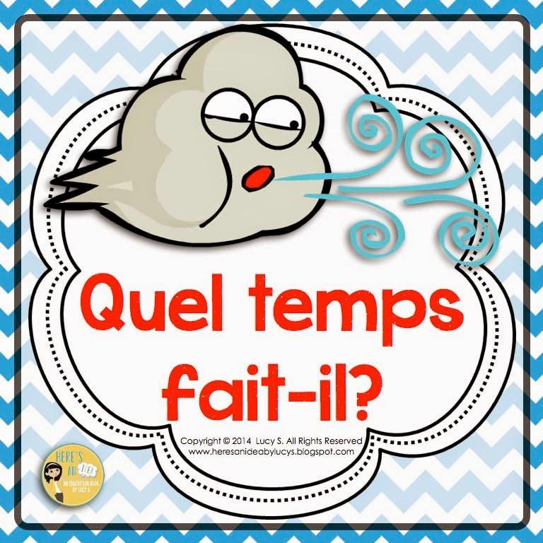 FRENCH - Quel temps fait-il?