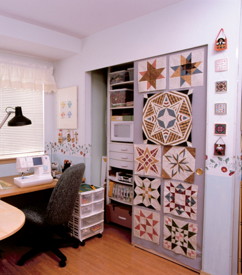 9 Quilt Design-wall Ideas by Jenny Wilding Cardon of Stitch This!