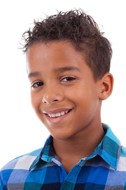 african american little boy