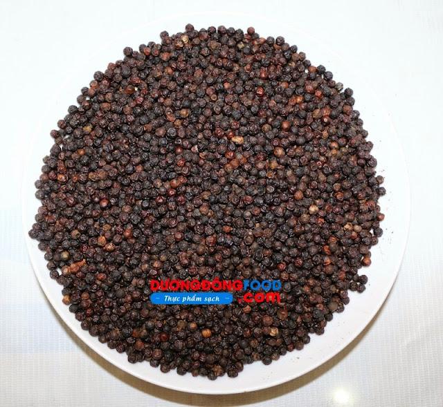 Đặc sản phú quốc nổi tiếng với hồ tiêu tiêu sọ tiêu chính