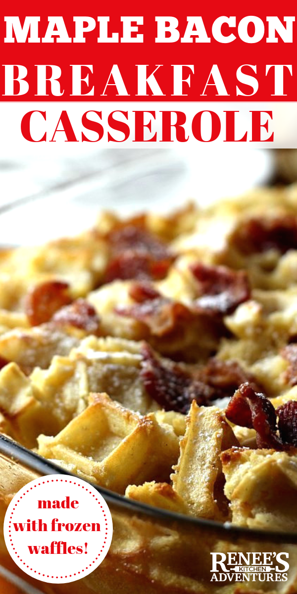 Breakfast Casserole with Bacon pin