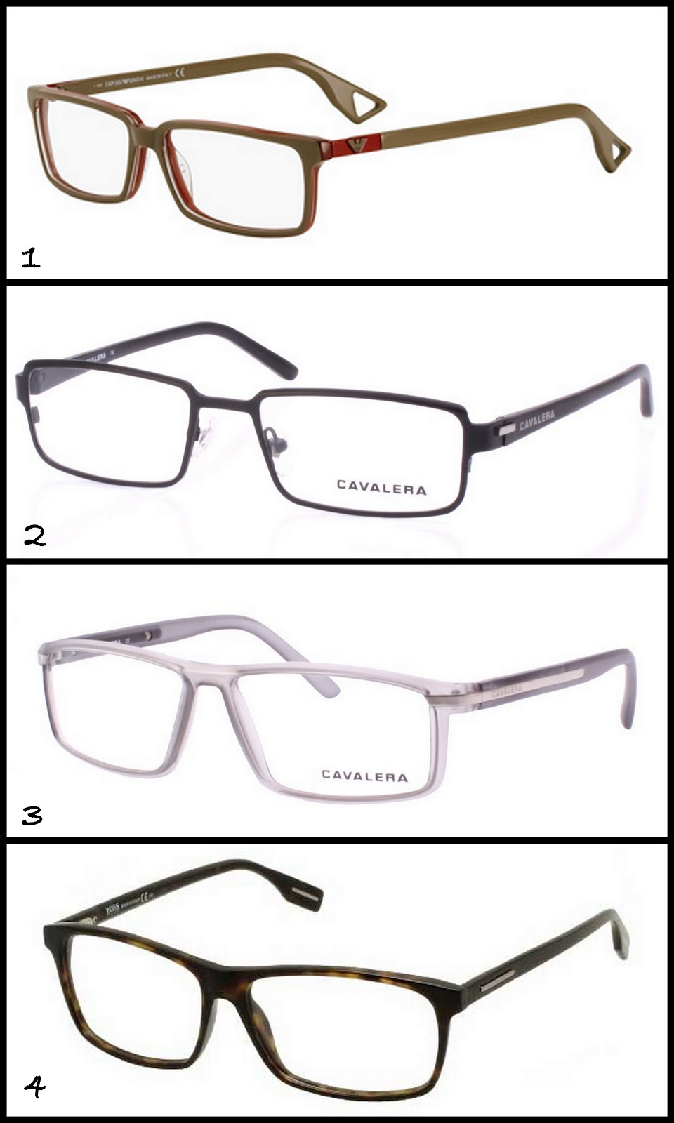 4a5c90aea Armações De óculos Masculinas Modernas « One More Soul
