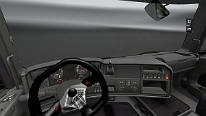 Sparco steering wheel mod for Scania R