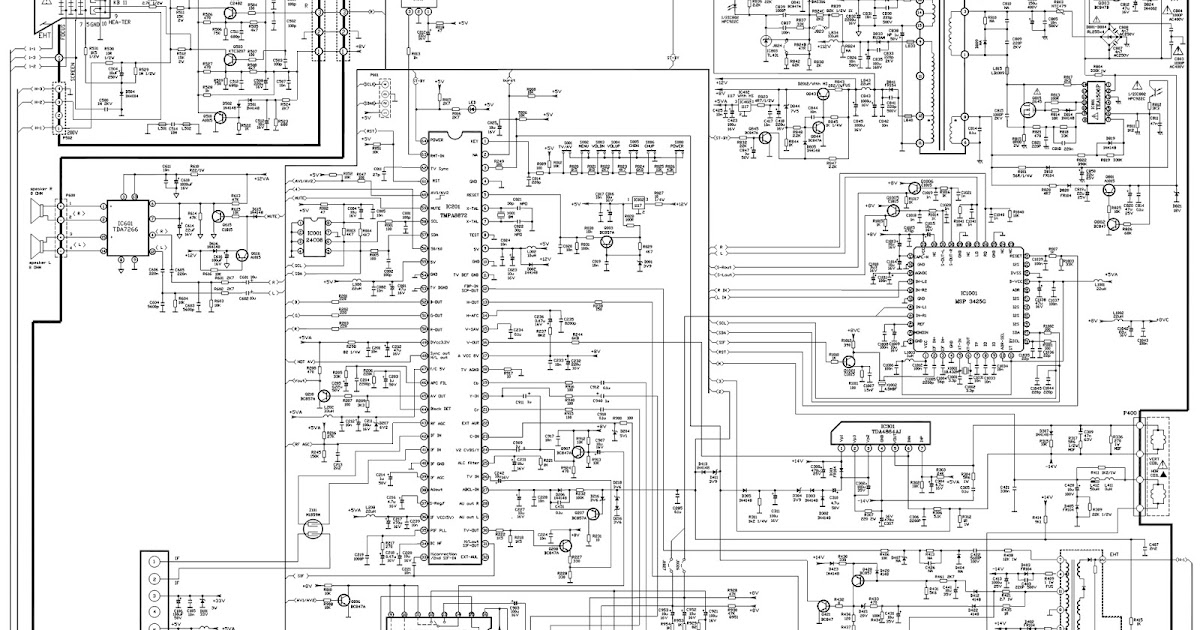 Toshiba Crt Tv Circuit Diagram