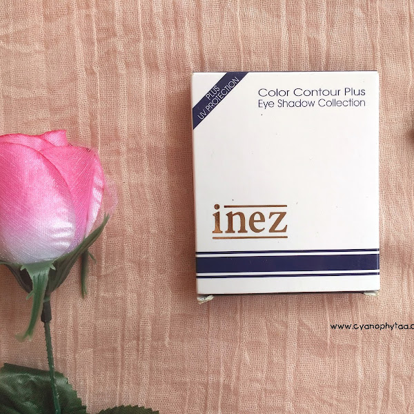 Review Inez Color Contour Plus Eyeshadow Collection - #07 Pattaya