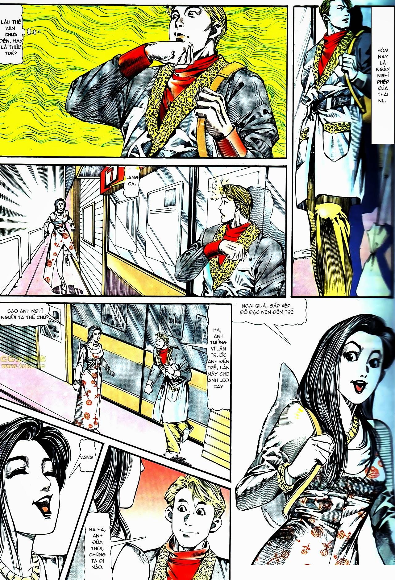 Người Trong Giang Hồ chapter 122: phố dục lạc trang 30
