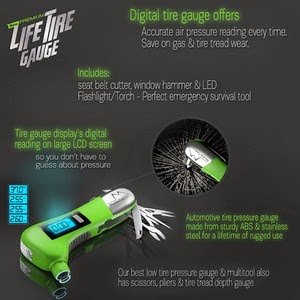 Precision Digital Tire Gauge Provides Ultra-Accurate Readings