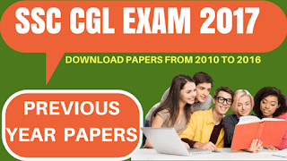 SSC CGL EXAM LAST 7 YEARS PAPERS WITH SOLUTION