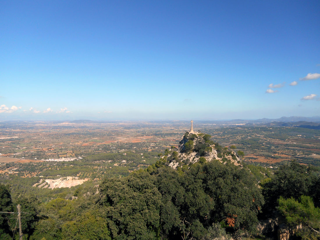 Vista dal Santuario de San Salvador