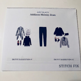 November 2017 Stitch Fix Review. Just Black Addison Skinny Jean | brazenandbrunette.com