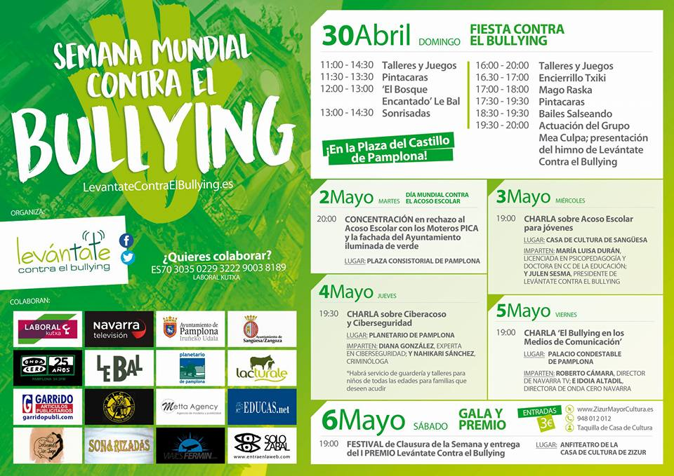 Semana contra el Bullying