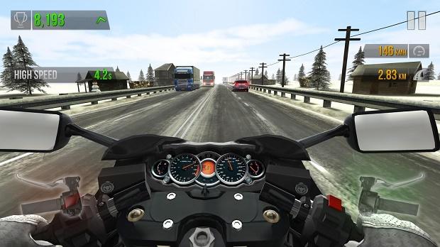 تحيل لعبة Traffic Rider التي تجاوزت 15 مليون تحميل