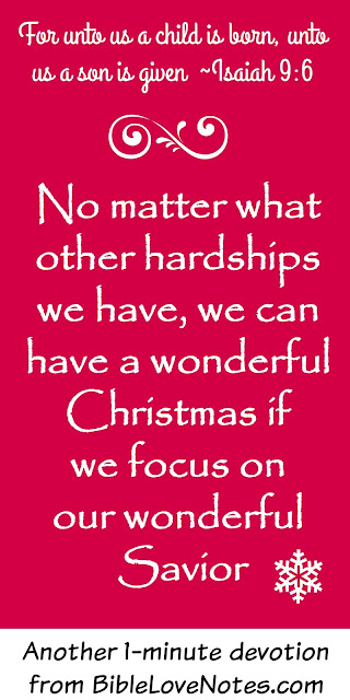 Difficult Christmas with family, Hard Christmas, Christmas is good because of Jesus