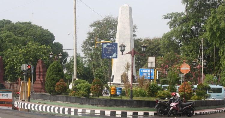 Cirebon Merdeka Lebih Dulu, Tugu Proklamasi di Alun-Alun