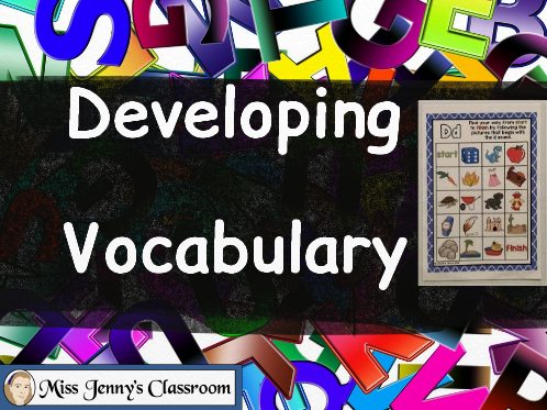 At The Beginning: Developing Vocabulary