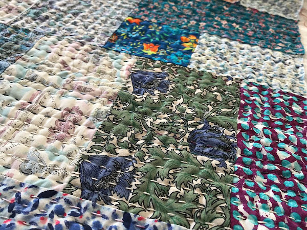 Liberty Kantha Table Runner