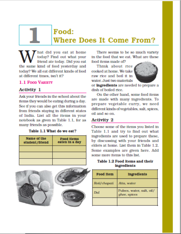 NCERT Science Class-6 : For English Medium Students PDF Book