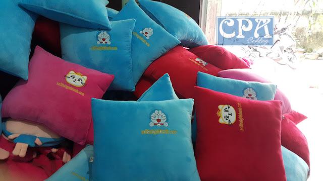 Gối ôm sản xuất cho công ty nội thất Gia Khánh