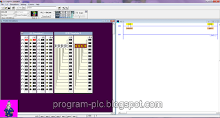 I/O Simulator on LogixPro 500 PLC Simulator
