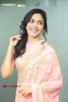 Actress Ritu Varma Pos in Beautiful Pink Anarkali Dress at at Keshava Movie Interview .COM 0112.JPG