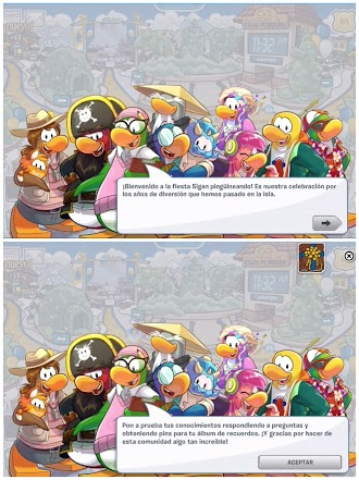 FIESTA DE DESPEDIDA DE CLUB PENGUIN