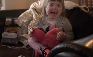 One of the very few Icelandic children with Down Syndrome who wasn't aborted