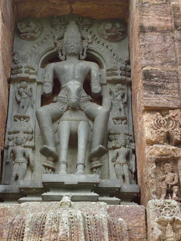 Statue of Sun God that has withstood the test of time at Konark Sun Temple, Odisha