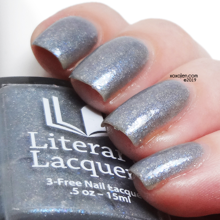 xoxoJen's swatch of Literary Lacquers High Lady of Winter
