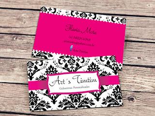 Cartão de visita personalizado 5