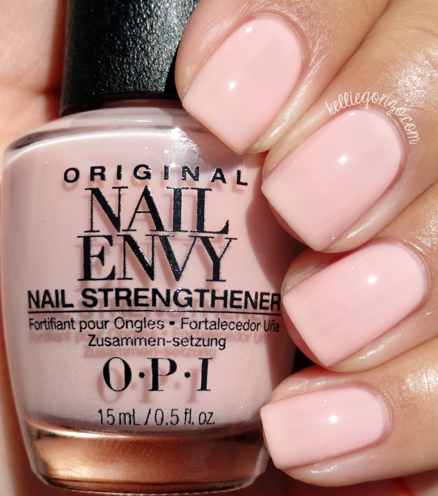 Kelliegonzo Opi Nail Envy Strength In Color Collection Swatches Amp Review
