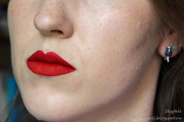 матовая помада Pierre Rene Matte Fluid Lipstick, отзывы
