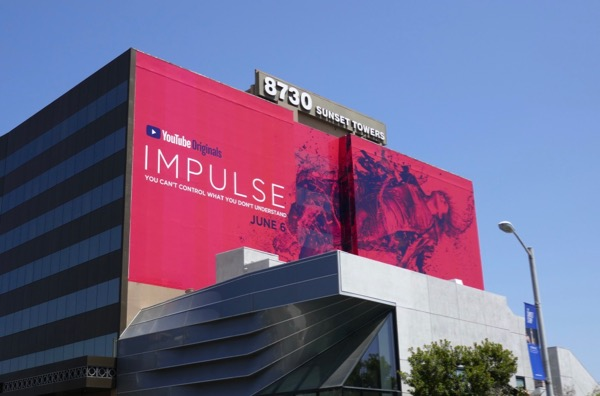 Giant Impulse series premiere billboard
