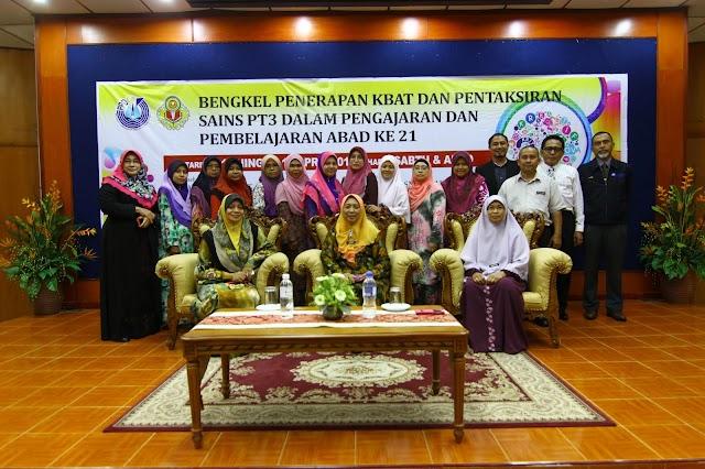 Bengkel KBAT Sains Kedah