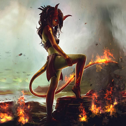 DevilGirl Wallpaper Engine