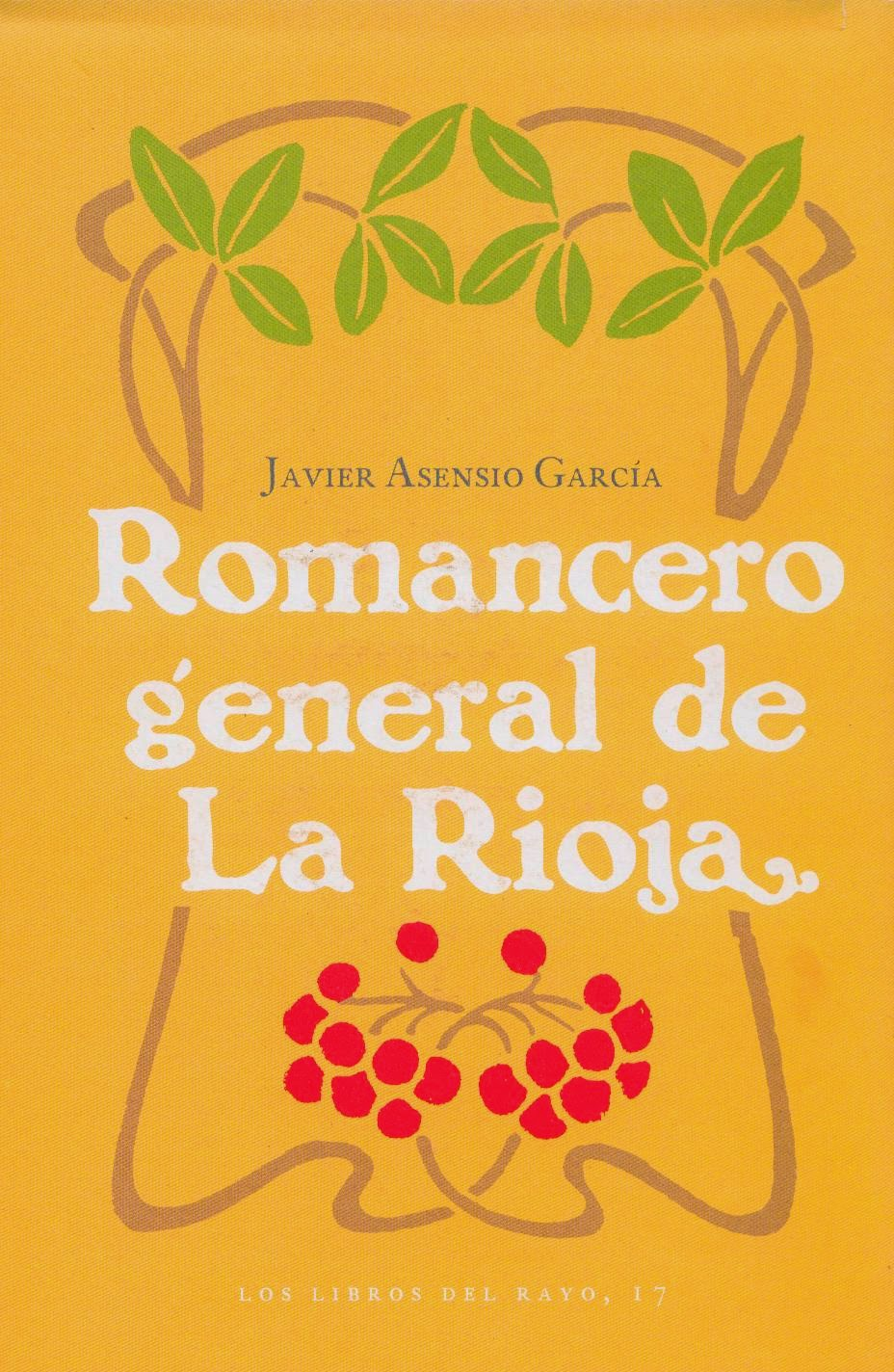 Asensio García, Javier, Romancero general de La Rioja