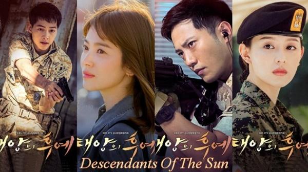 Drama Korea Terbaik descendants of the sun