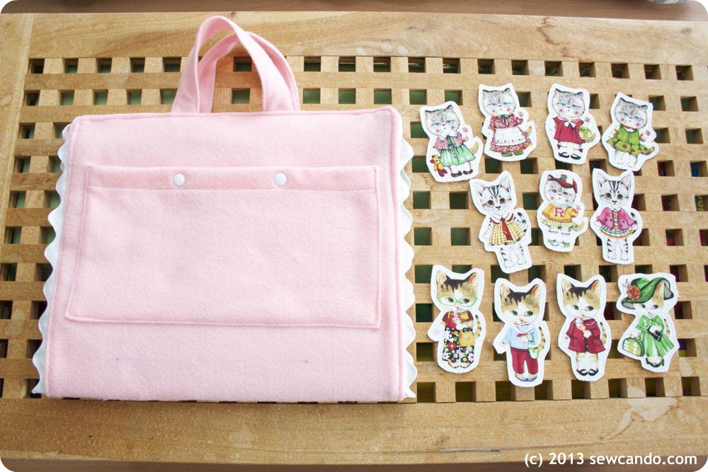 Sew Can Do: Pretty Kitties Play Set: A Fun & Felt Tutorial