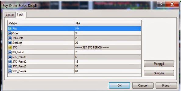 Setting Multi SCript DSP