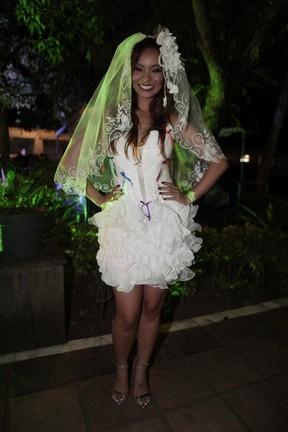 Fantasia Festa Junina, vestido noiva Carol Nakamura