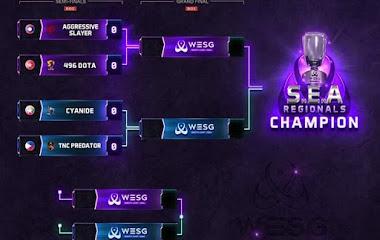 Giành chiến thắng trong trận Derby Đông Dương, 496 Gaming thẳng tiến vào chung kết WESG SEA 2019