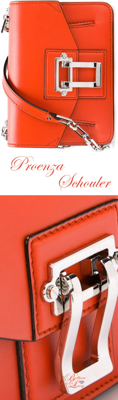 Brilliant Luxury ♦ Proenza Schouler Hava Shoulder Bag