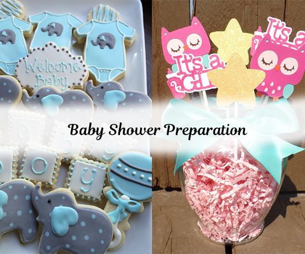 baby shower preparation