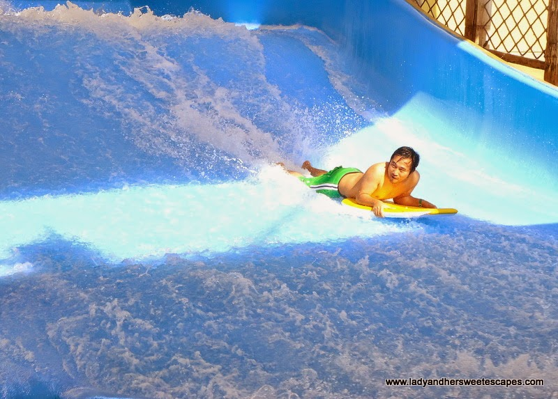 Ed at Wild Wadi water park Dubai