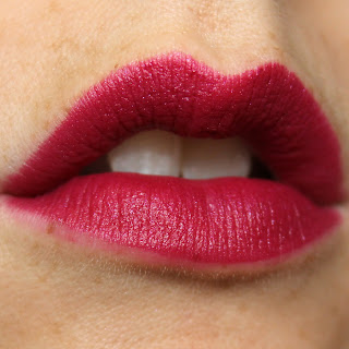L'Oreal Colour Riche Matte Addiction Lipsticks review swatch swatches Plum Tuxedo