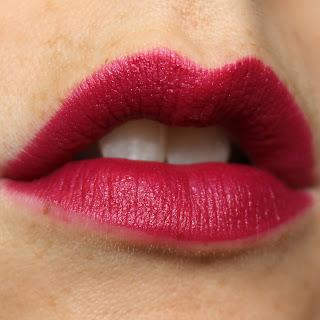 L'Oreal Colour Riche Matte Addiction Lipsticks review swatch swatches Plum Tuxedo